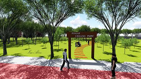 Poços de Caldas: área de lazer no Campos Elísios terá primeiro pomar urbano da cidade