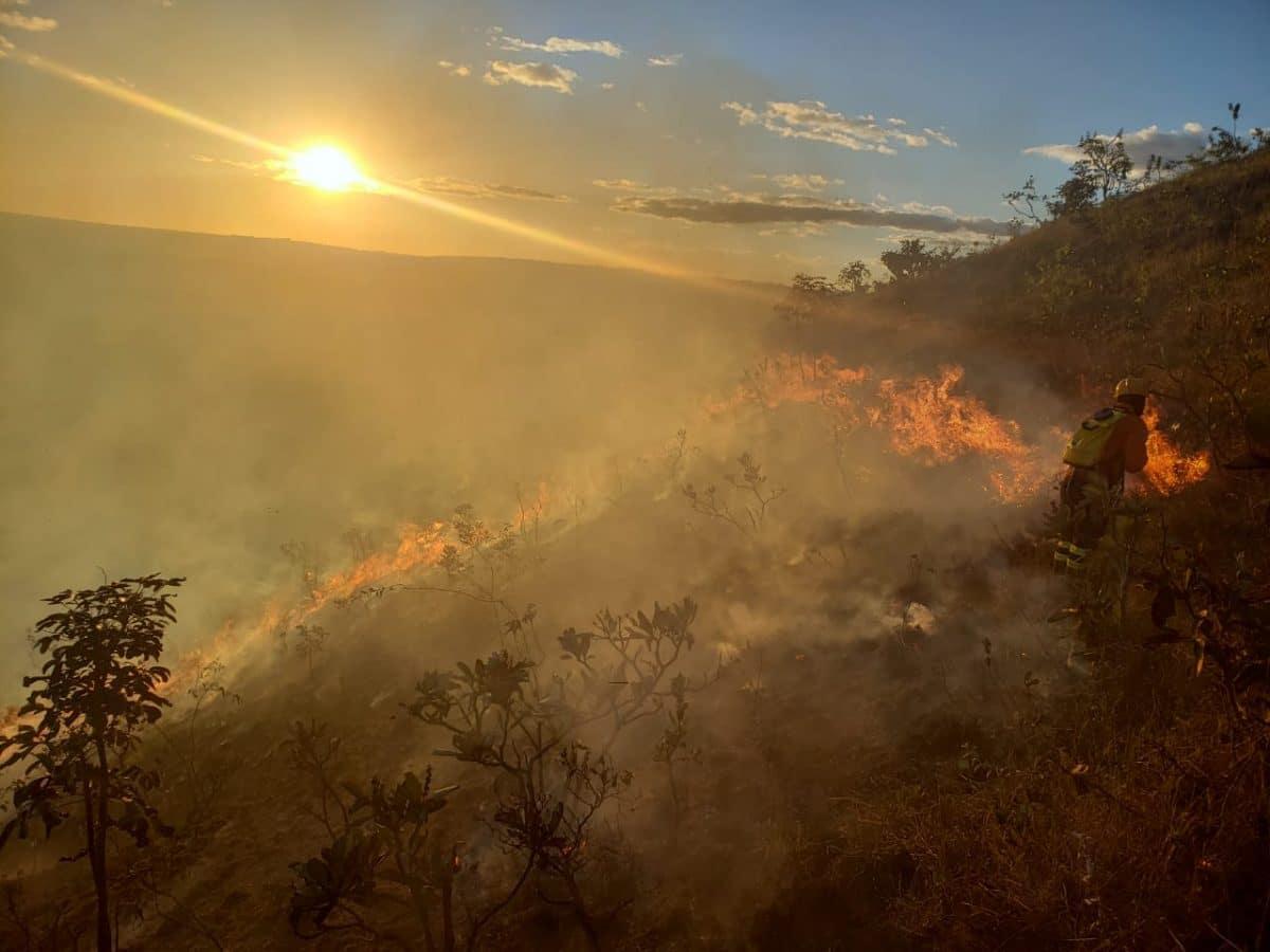 Governo libera crédito extra de R$ 428 mil para combate a incêndios florestais