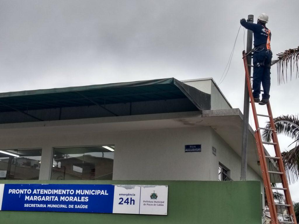 Poços de Caldas: rede de fibra ótica em prédios públicos reduz por quatro gastos com comunicação