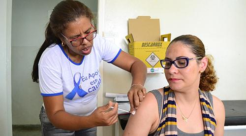 Montes Claros tem média semanal de 3 mil doses contra sarampo