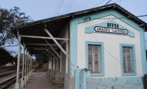 Divinópolis: Secretaria de Cultura efetiva o tombamento da Estação Amadeu Lacerda