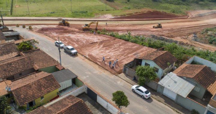 Iniciada a construção de prédios para moradores com casas em área risco em Pouso Alegre