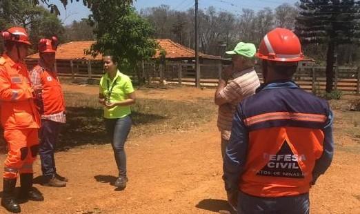 Patos de Minas: teste sonoro para eventual evacuação é realizado na Mosaic Fertilizantes