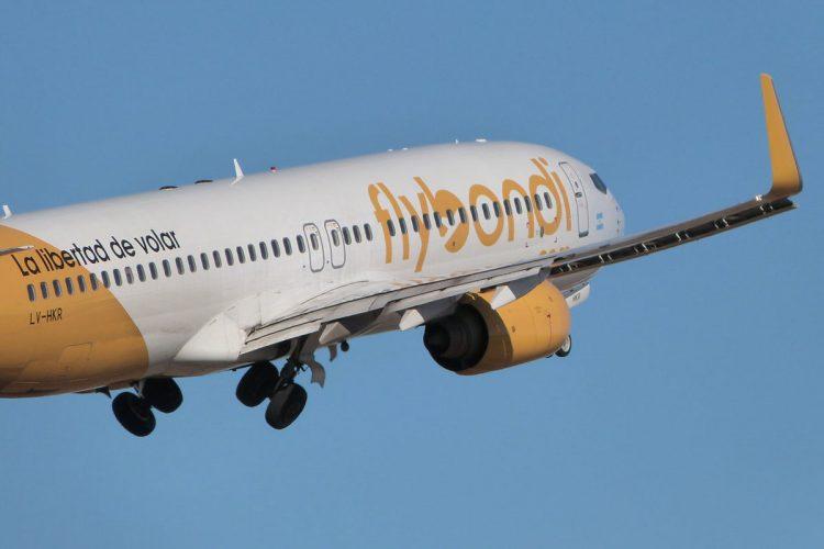 Aérea Flybondi tem mais 17 destinos brasileiros no radar