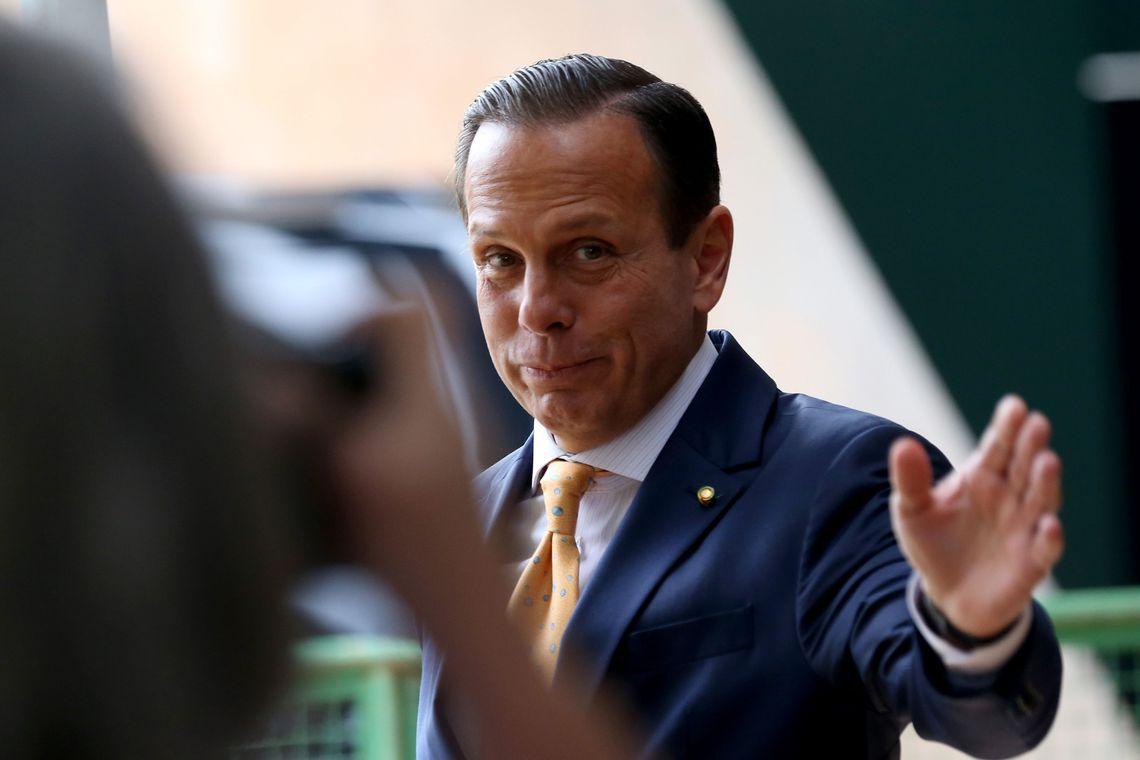 Contra Bolsonaro, João Doria admite frente 'centro-esquerda'