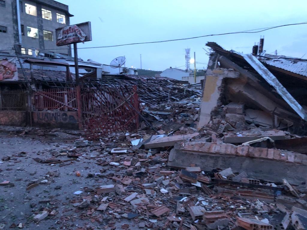 Formiga: padaria destruída com explosão de botijão e morte não tinha alvará de funcionamento