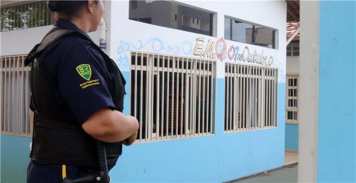 Invasão à Escola 7 de Outubro, em Ipatinga, é repelida por ação da vigilância armada