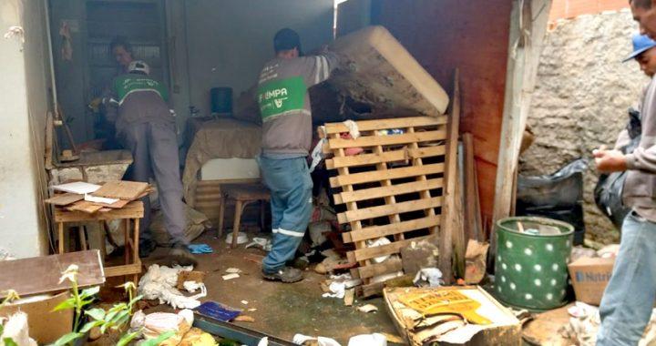 Juiz de Fora: operação contra Dengue retira 6 toneladas de lixo de apenas uma residência