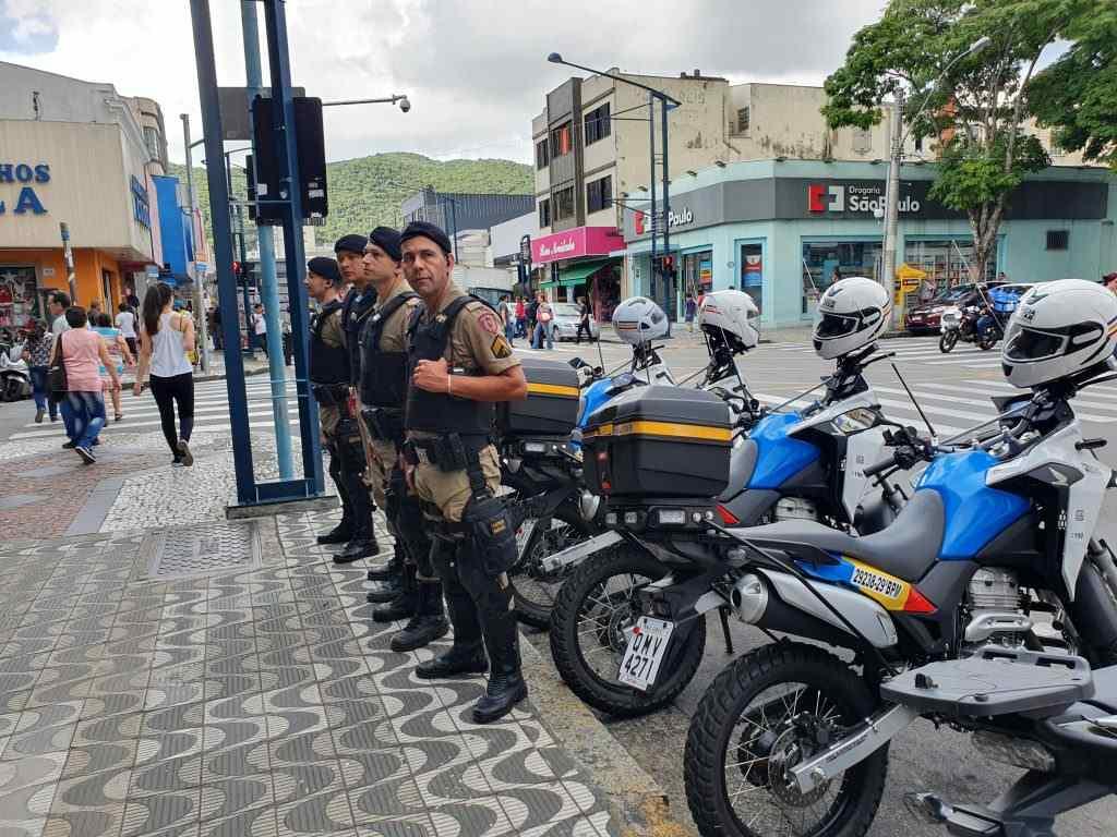 Operação Natalina aumenta em 20% o efetivo policial nas ruas de Poços de Caldas