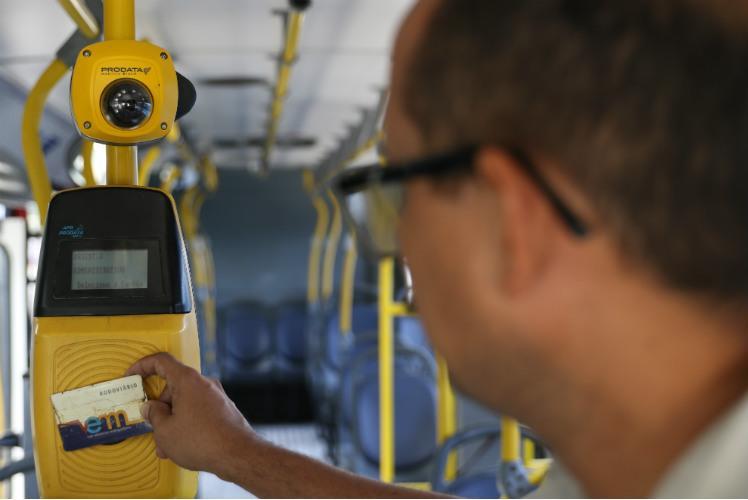 Biometria facial: Passos inicia cadastro para idosos usuários do transporte público