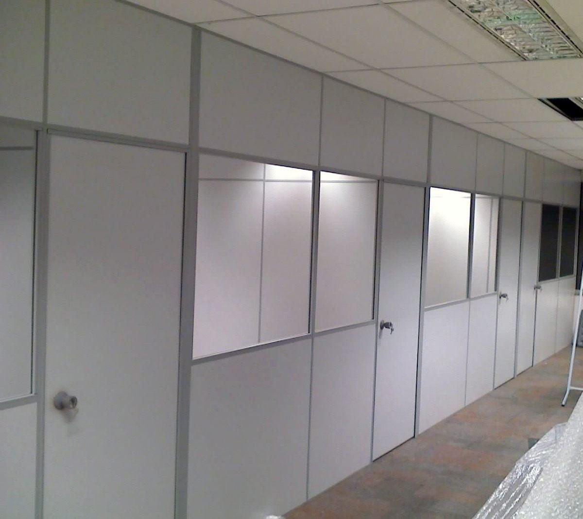 Múltipla Divisória em BH: forro de PVC, drywall e persianas