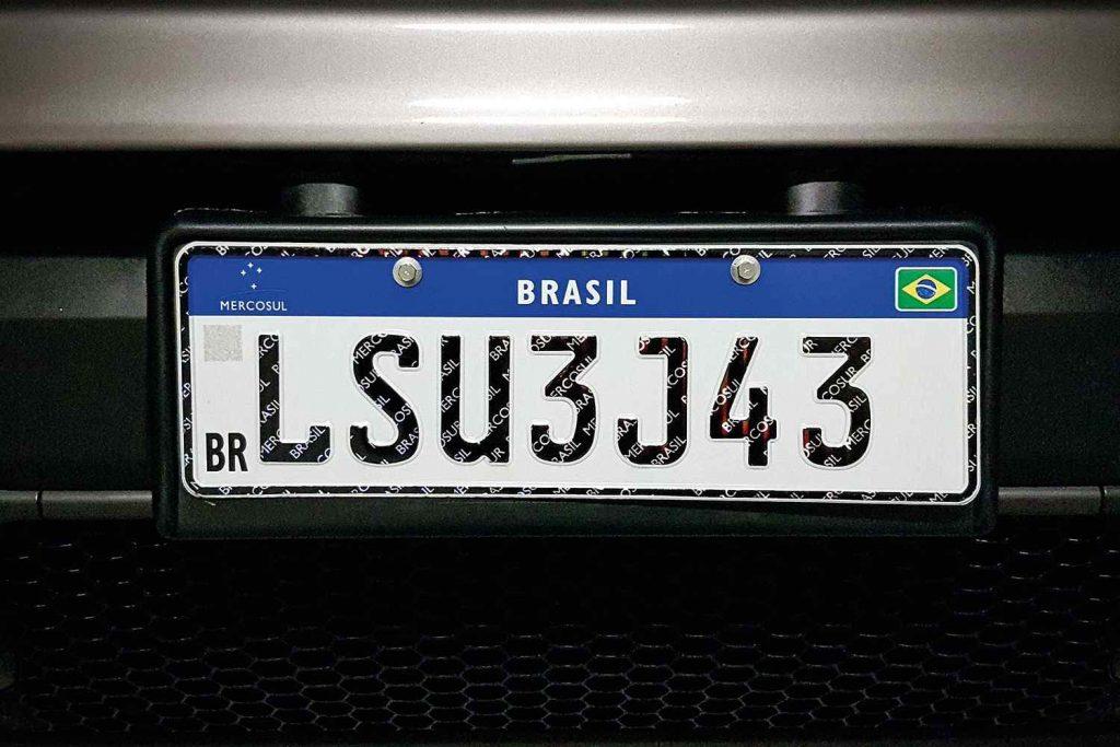 Novo modelo de placa do Mercosul será obrigatório a partir do dia 31