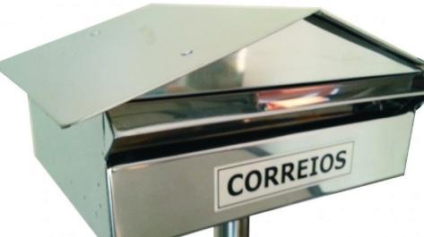 Caixa de correio inox: Loja Sempre Inox