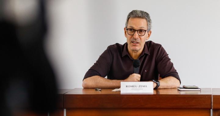 Romeu Zema: 'os números dos últimos dias estão nos assustando'