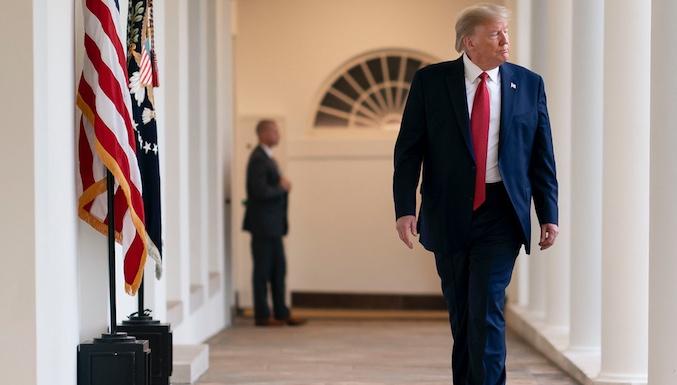 Casa Branca: mínimo de 100 mil norte-americanos mortos