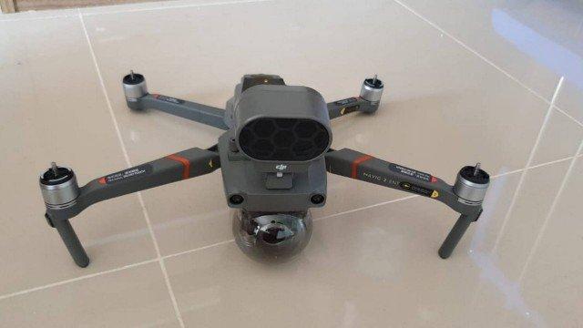 'Disk Aglomeração': drone com alto falante vai dispersar grupos