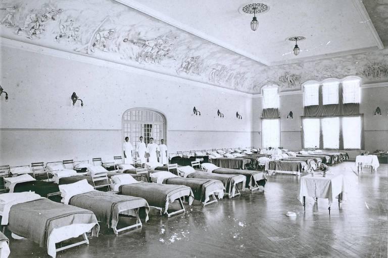 Há 100 anos, Gripe Espanhola causou confinamento de 66 dias