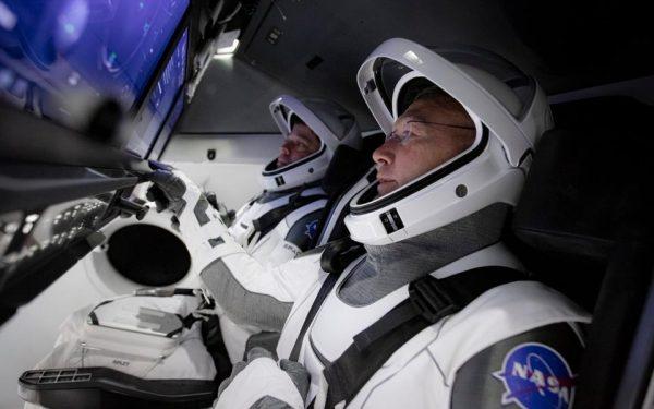 AO VIVO| Astronautas da Nasa já estão na nave