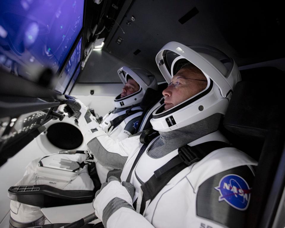 AO VIVO🔴 Astronautas da Nasa já estão na nave