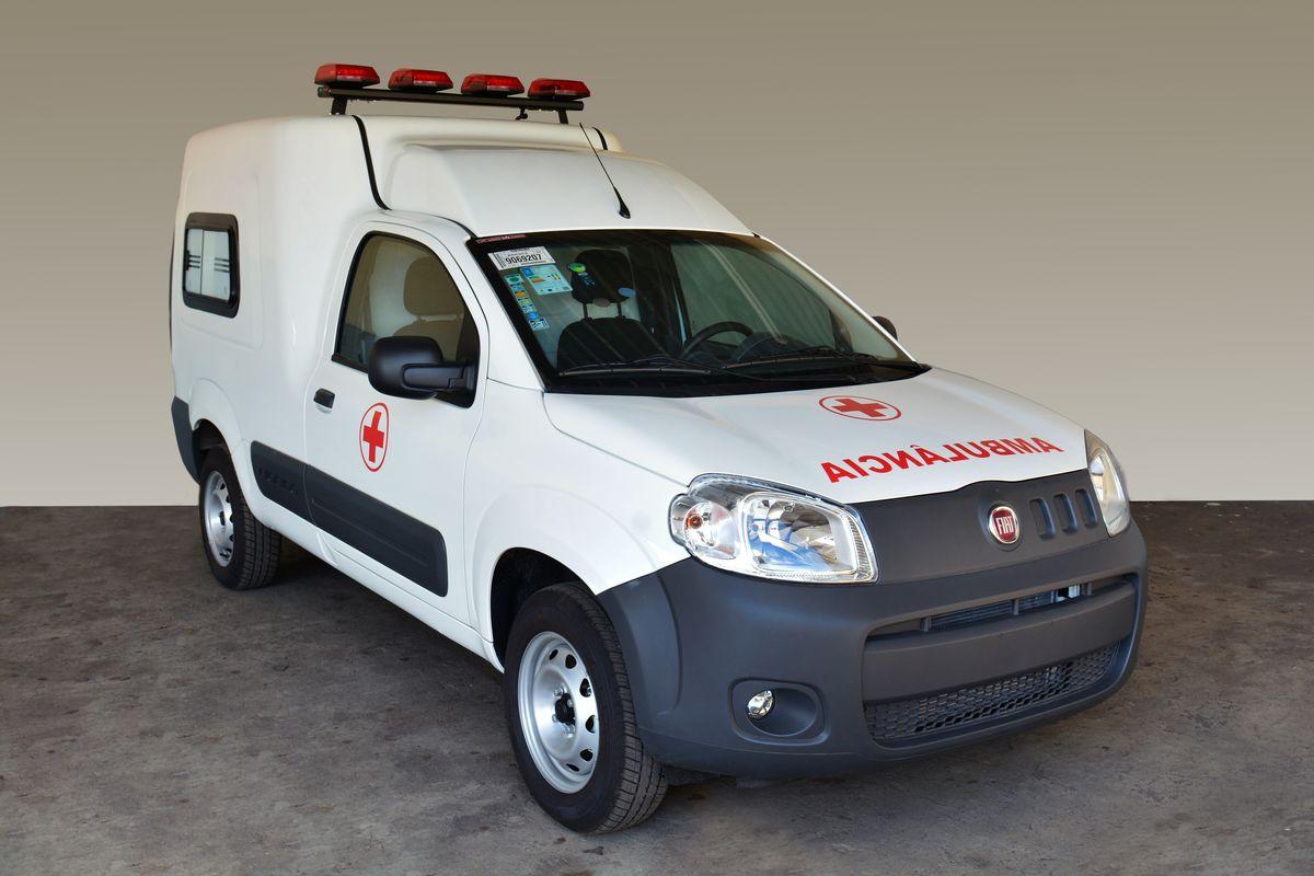 Fiat lança Fiorino Ambulância para pacientes que não correm risco de vida