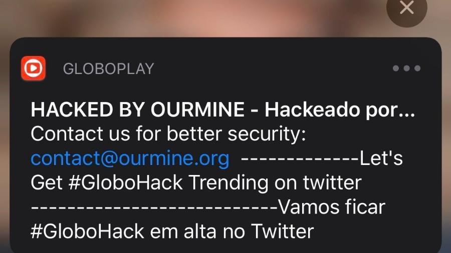 Hackers invadem Globoplay. Grupo já atacou Facebook, Instagram, Netflix e HBO