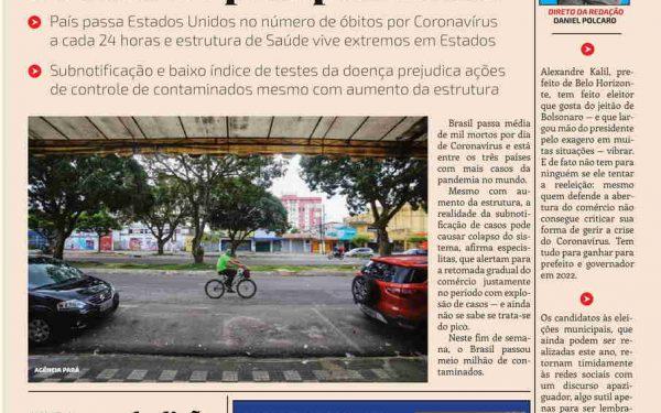 Retomada do comércio ocorre no ápice da pandemia no Brasil