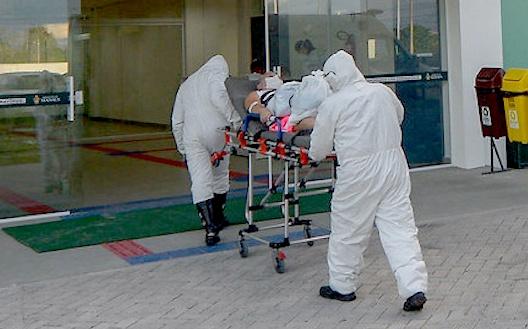 Tiro provoca queda de energia e pacientes morrem em hospital