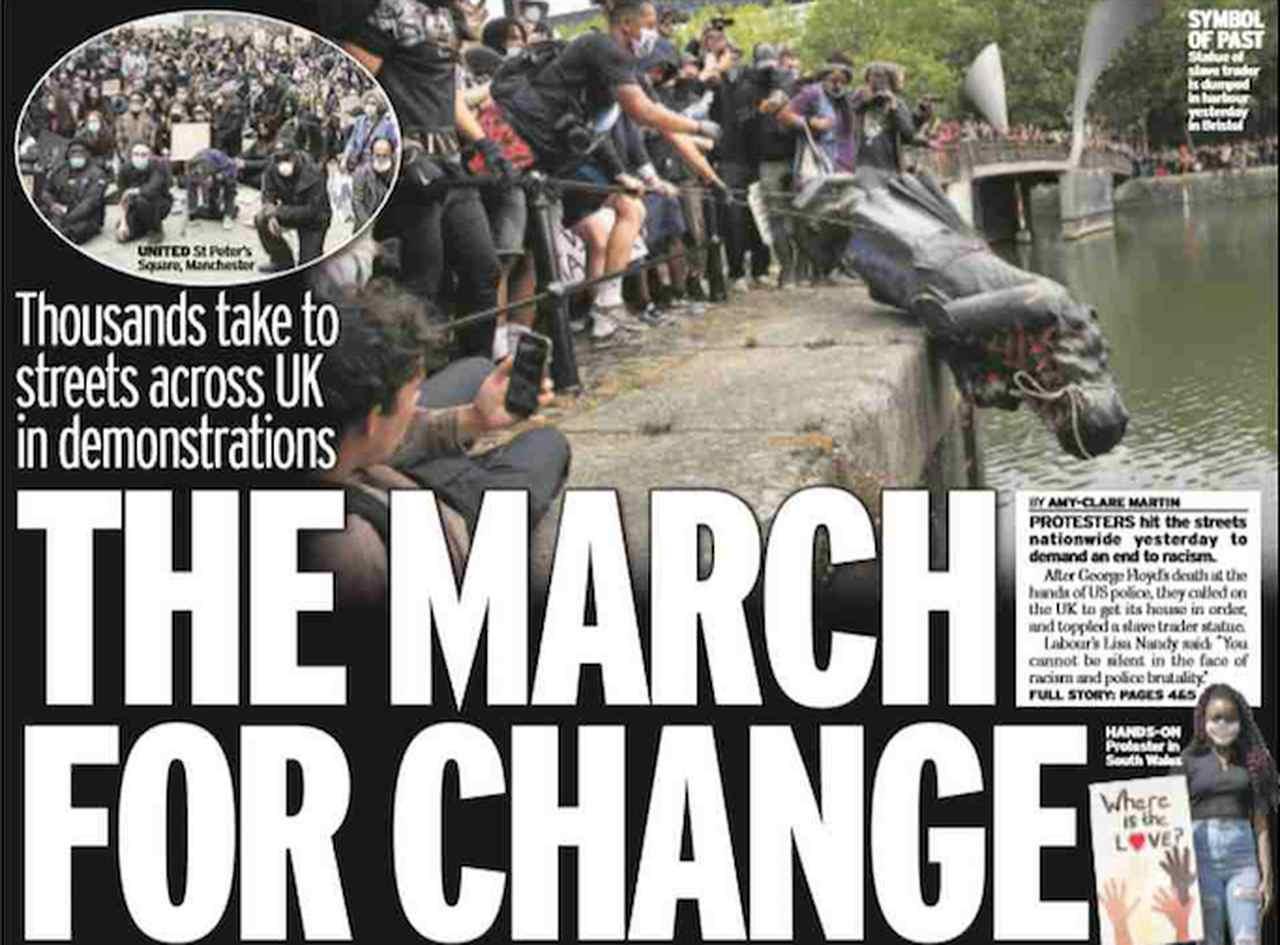 Capa dos jornais de amanhã do Reino Unido