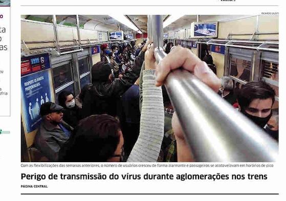 Capa dos jornais de hoje: o risco da flexibilização