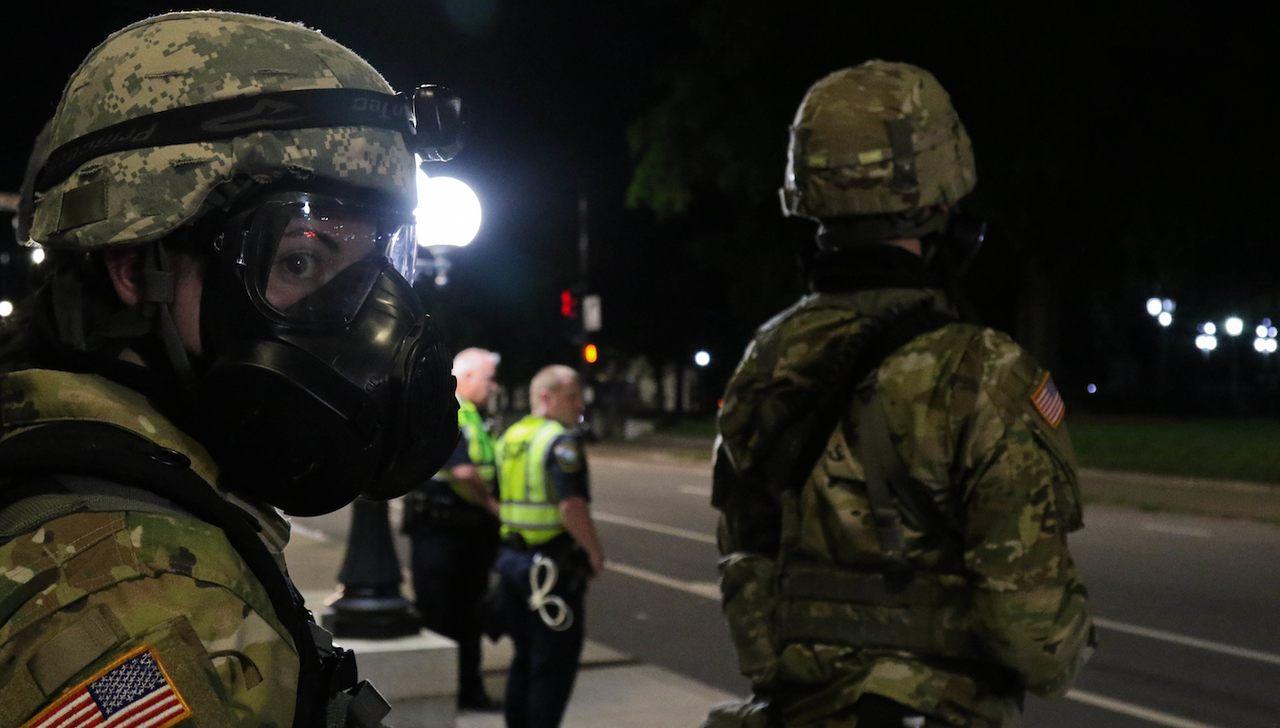 Efetivo total da Guarda Nacional é usado contra manifestantes