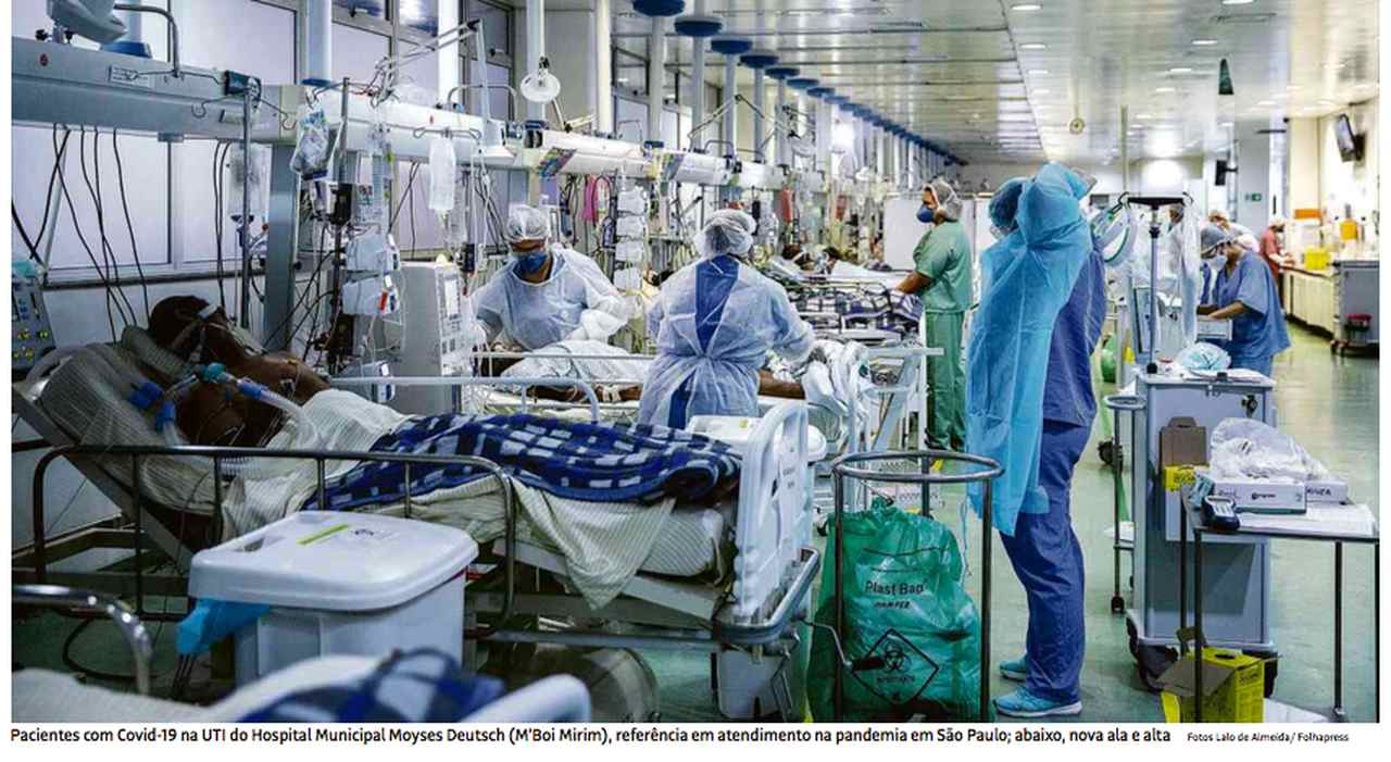 Coronavírus: hospital permite 'visita de adeus' a pacientes terminais