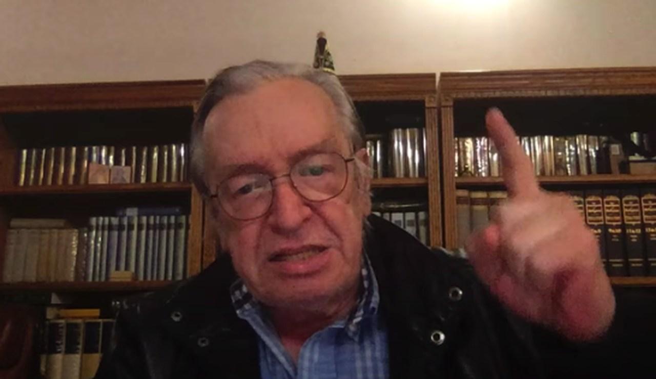 Guru de Bolsonaro: 'Esse pessoal não consegue derrubar seu governo? Eu derrubo'. Assista