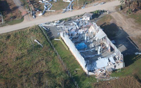 Alerta: novo ciclone chega ao Brasil nesta terça