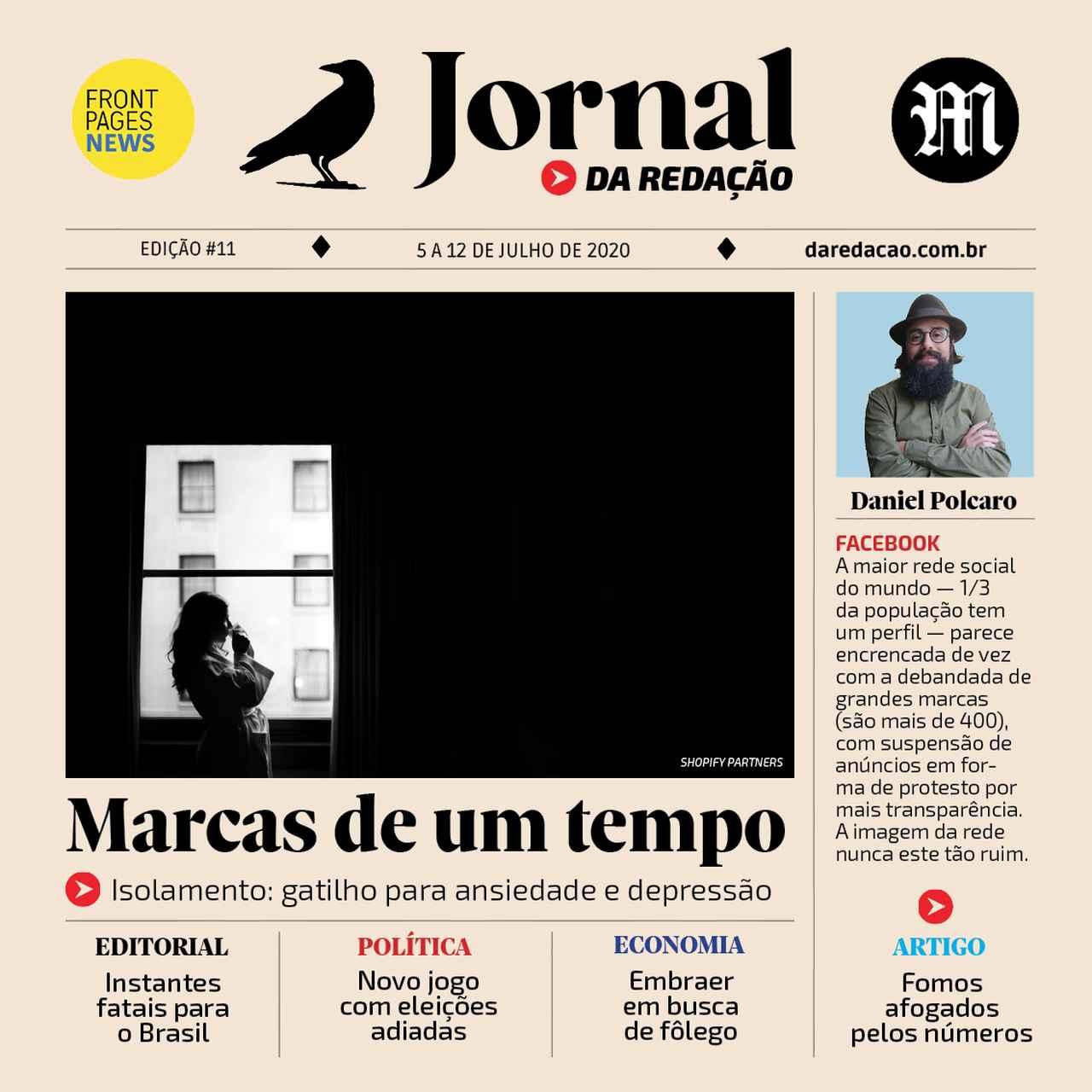Capa Jornal da Redação