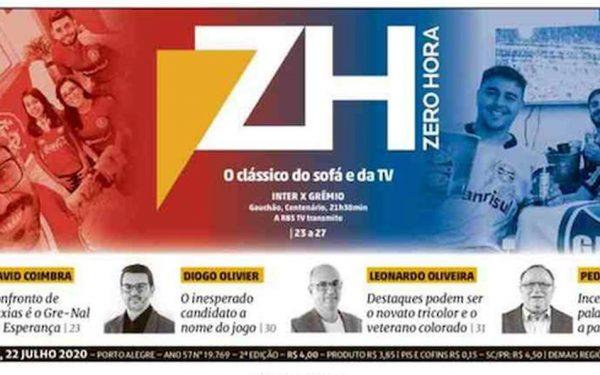 Capa dos jornais de hoje: a volta do futebol
