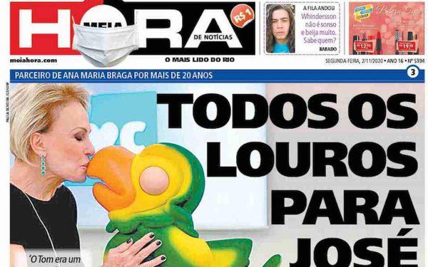 Capa dos jornais de hoje: eleições americanas e 'morte' de Louro José
