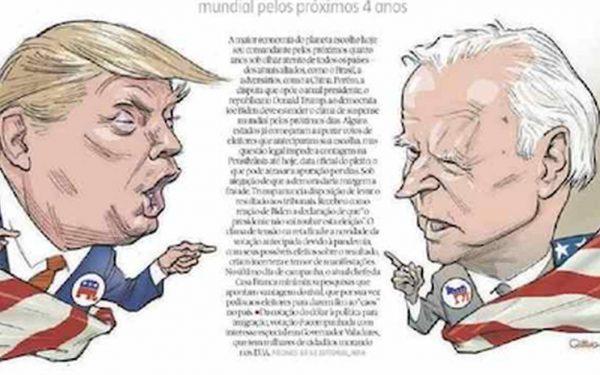 Capa dos jornais de hoje: o Brasil e as eleições americanas